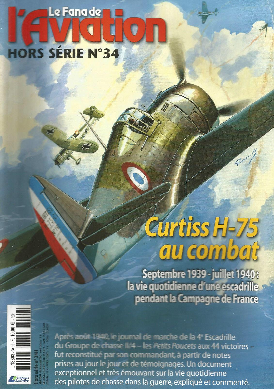 le fana de l/'aviation-n°99-les Caudron d/'entrainement 2°-Northrop Black Widow 2°